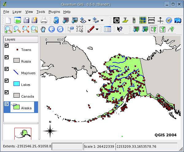 QGis example from SF.net